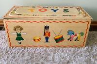 Original Vintage Louis Marx Toys Tin Toy Box Rare Large  Excellent Condition