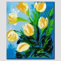 ORIGINAL Acryl Gemälde Modern HANDGEMALT Abstrakte Kunst Malerei Leinwand Bilder