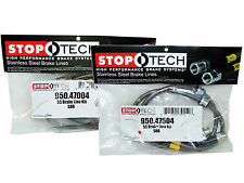 Stoptech Stainless Steel Braided Brake Lines (Front & Rear Set / 47004+47504)
