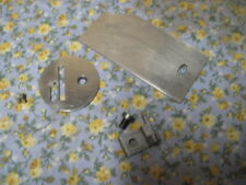Singer 128 Sewing Machine Rear Bobbin Slide Plate Needle Throat Feeddog Vintage