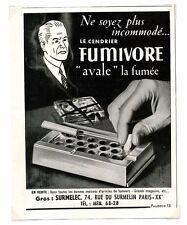 1940 / Publicité pour Fumivore / Tabac / LD71