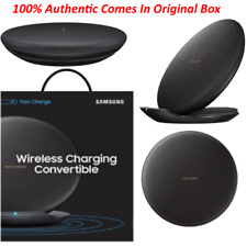 Samsung Qi Fast Charge Wireless Convertible Charger S8 S8+ 9 iPhone 8 7 PLUS X