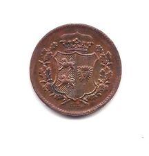1850-TA German States Scheswig Holstein One Dreiling--Strong Details !!