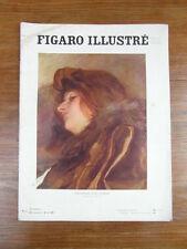 Revue LE FIGARO ILLUSTRE / No 199 Octobre 1906 Les Dons CAYLUS Salon automne