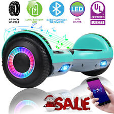 """6.5"""" Bluetooth Hoverboard Electric Self Balancing Scooter UL Without Bag Green"""