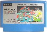 DEVIL WORLD Picture Label NINTENDO FAMICOM NES FC FAMILY COMPUTER JAPAN