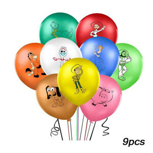 "9 X 12"" TOY STORY Character Latex Balloons Party Decoration Buzz Birthday Party"