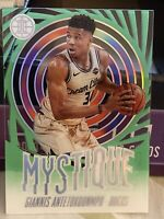 "2019-20 Illusion Giannis Antetokounmpo SSP ""Mystique"" Acetate Emerald🏀Variation"