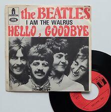 "Vinyle 45T The Beatles  ""Hello, goodbye"""