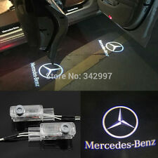 2x LED door step courtesy laser projector lights For Mercedes ML350 W164 2006-11