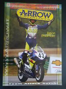 Vintage Poster Jason Pridmore 2002 Team Attack Suzuki Formula Extreme AMA