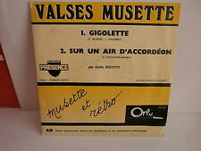 EMILE DECOTTY Gigolette ORLY PROMO DN607 ACCORDEON MUSETTE