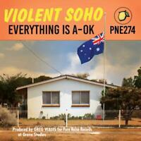 Violent Soho - Everything Is a-Ok (Clear/Blue/Red Splatter Vinyl) LP NEU OVP