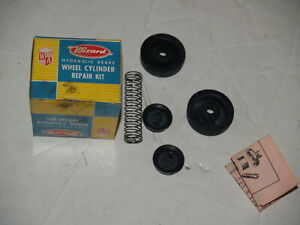 NOS Western Auto Wizard S5928 Wheel Cylinder Repair Kit -Rear Ford 1949-1964