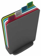 Joseph Joseph Index Chopping Board Set, Mini - Graphite, Set of 4
