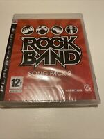 😍 jeu playstation 3 ps3 rockband song pack 2 neuf sous blister