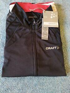 Craft Mens  Cycling Jersey PB  Black Size XXL UPF 50+ Brand New With Tags
