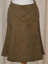Fat Face, Ladies, Brown, Casual, Cotton, Skirt, size 12