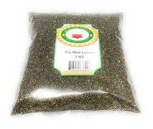 Dry Mint 7oz (200 GM) Herbs By BulkShopMarket Free Shipping