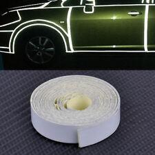 2st 5M Weiß Reflektierendes Selbstklebend Reflektorfolie Reflektorband Klebeband