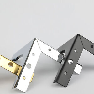Metal Triangle Furniture Legs DIY Cabinet Cupboard Sofa Couch Feet Replacement