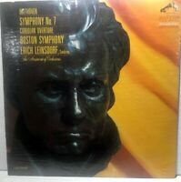 BEETHOVEN SYMPHONY NO 7 BOSTON SYMPHONY ERICH LEINSDORF ORIGINAL SEALED LP