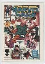 1991 1st Covers Series 2 34 Marvel Saga The Official History of teh Universe 0p3