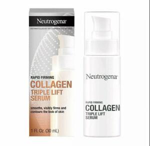 Neutrogena Rapid Firming Collagen Triple Lift Face Serum 1 fl oz, New In Box