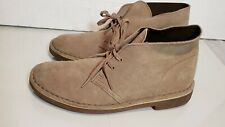 Clarks Men's Taupe distressed 2 Lace-Up Desert Chukka Boot size 7 US