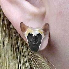 Conversation Concepts Chinese Crested Dog Earrings Post