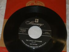 THE PLATTERS The Great Pretender /I'm Just A Dancing... MERCURY Rock & Roll  VG+
