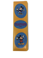 Walt Disney Vintage Mickey & Minnie Mouse Telephone Address Book - Made in Japan