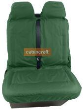 Semi Tailored Waterproof Front Double Van Seat Covers Heavy Duty Green Custom