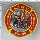 Boston Fire Department (Massachusetts) Engine 14 - Ladder 4 Shoulder Patch