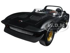 1964 CHEVROLET CORVETTE GRAND SPORT ROADSTER MAT BLACK 1/18 ROAD SIGNATURE 92697