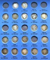 COINS FROM PAGE 2 OF 1822-1916 BARBER DIME FOLDER