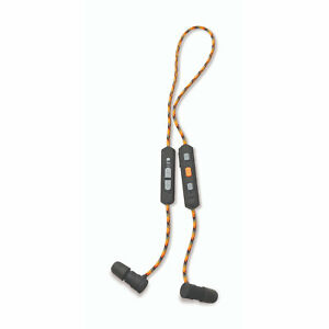 Walker's GWP-RPHE-BT Bluetooth Rope Hearing Enhancer Shooting Protection Earbuds