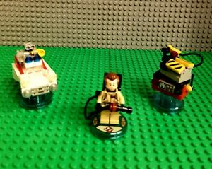 LEGO Dimensions Ghostbusters Level Pack 71228 Peter Venkman Ecto-1 PS4 Xbox