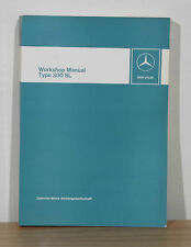 Mercedes-Benz Workshop Manual 1950s Type 300SL Gullwing and Roadster