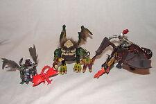 Mega Bloks Krystal Wars MONSTER LOT w/ Ogre, Dragons, and Others