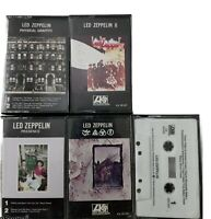 Led Zeppelin Cassette Lot 5 Physical Graffiti- Presence - II - Black Mountain