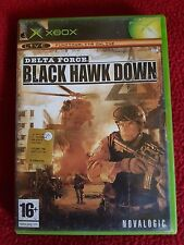 VIDEO GIOCO VINTAGE PER XBOX BLACK HAWK DOWN