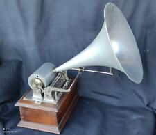 Ancien Phonographe Gramophone A Cylindre Pathé Frères/coq/old phonograph