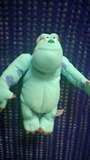 "DISNEY - MONSTERS  INC  SULLEY  PLUSH SOFT TOY 7"" TALL VGC"