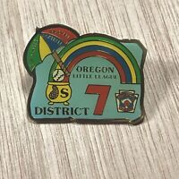 Oregon Little League Challenger Pin District 7 Baseball Softball Commemorative