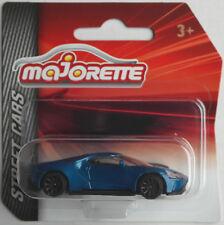 MAJORETTE-FORD GT blaumet. Nuovo/Scatola Originale