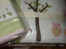 Pottery Barn Kids Hayley Crib Bumper + Crib skirt