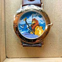 Disney Commemorative Sutton Time Lion King Watch Collectors Edition MIB Rare