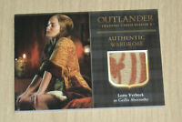 2019 Cryptozoic Outlander Season 3 trading card wardrobe Lotte Verbeek M27