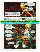 PLAYBOY STORY, LITTLE ANNIE FANNY, CARTOON. DEC 1971, PAGE 1- REPRINT (11x14)